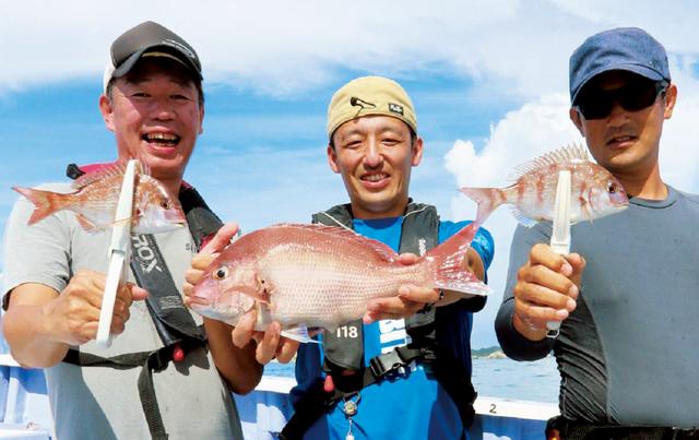釣行の様子