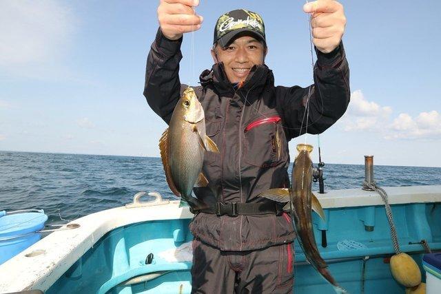 釣果の写真