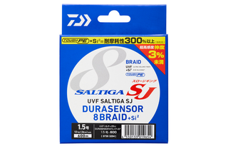 UVFソルティガSJ DURAセンサー×8+Si2は2019年新発売のスロージギング専用PEライン!