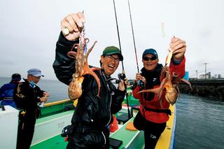 [宮澤幸則の令和も釣りは楽しく真剣に!2(第1回)]一度で2倍楽しいリレー釣り!好調!!東京湾の餌木タコ&シロギス
