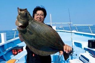 秋めく沖釣り、大型混じりで開幕!太東~大原のヒラメ