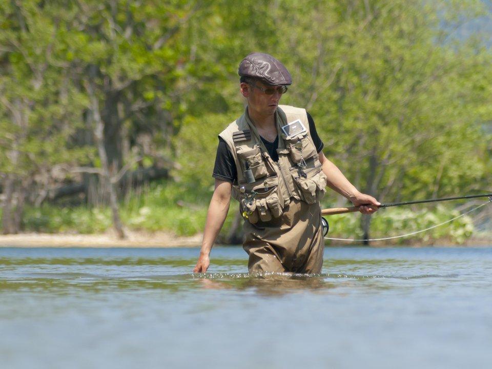 渓流釣り ベスト フィッシングベスト