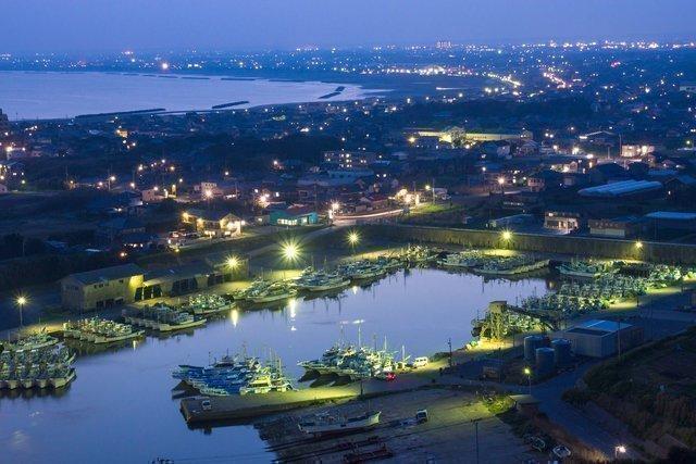 漁港 釣り場 海 アジング