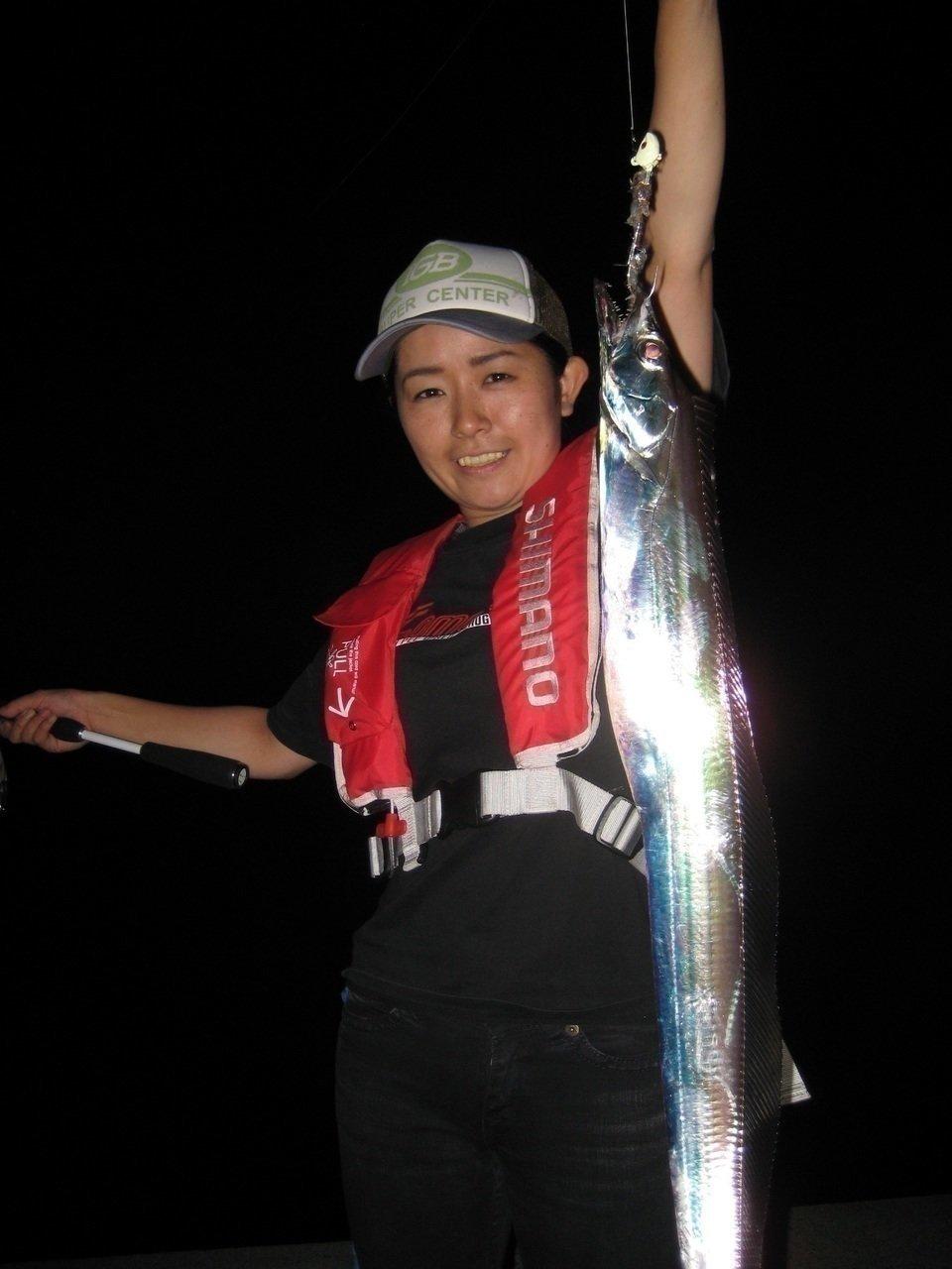 人 太刀魚 写真