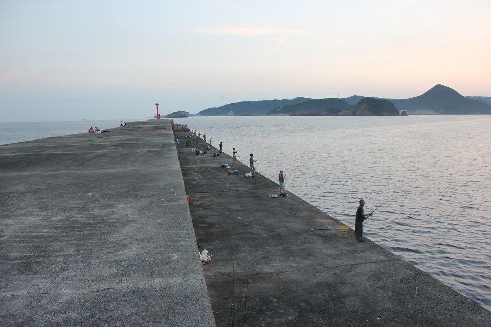 釣り場 写真