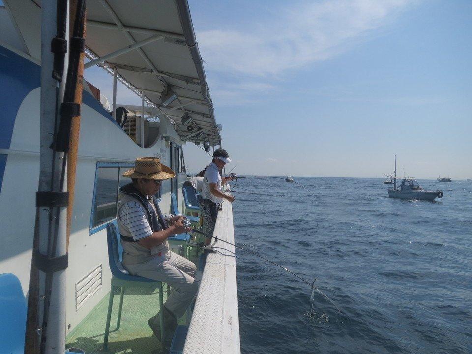 船 釣り 写真