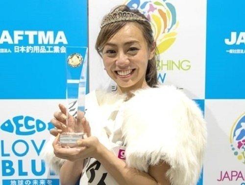 アングラーズアイドルのグランプリが決定いたしました!廣瀬麻伊さんおめでとうございます!