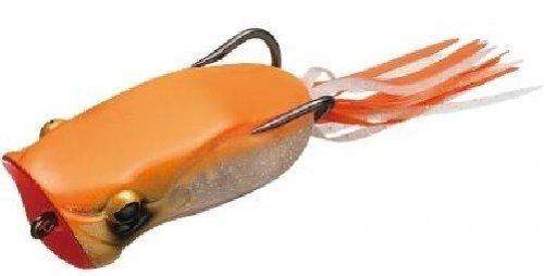 オレンジ色のポッパーフロッグの写真