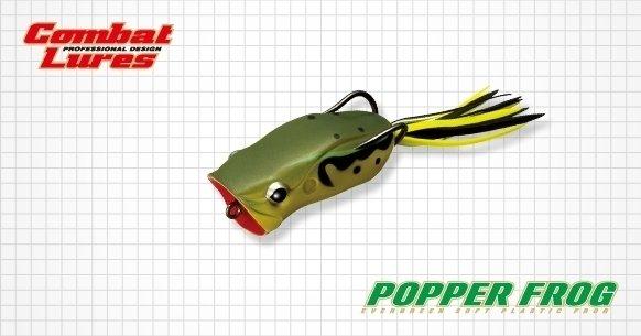 緑色のポッパーフロッグの写真