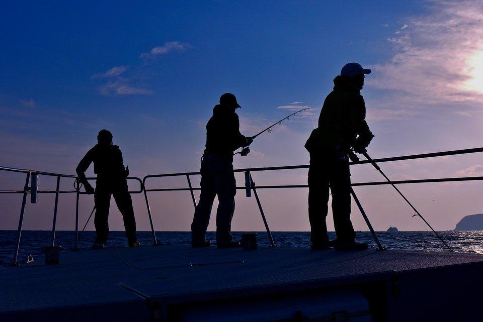 釣り 人 写真