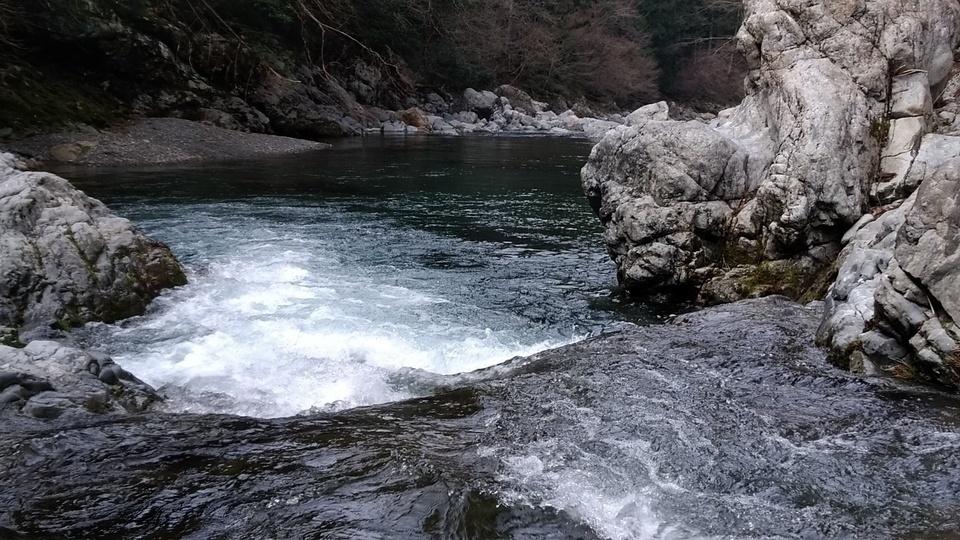 渓流 写真