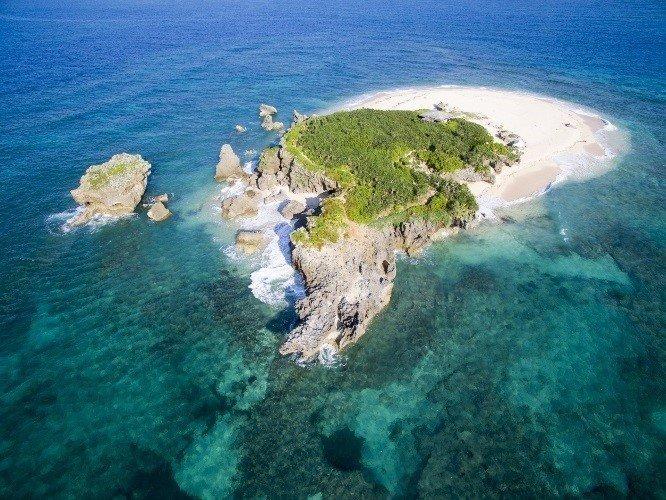 無人島 写真