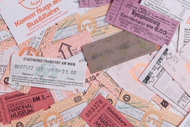 切符 写真