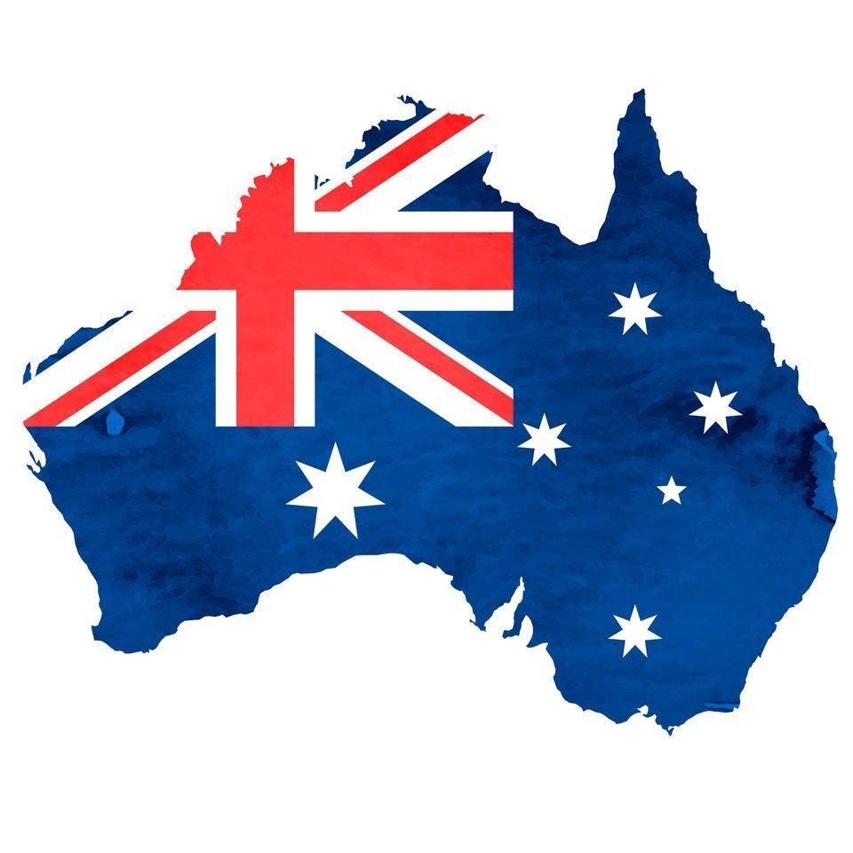 オーストラリア 国旗 イラスト