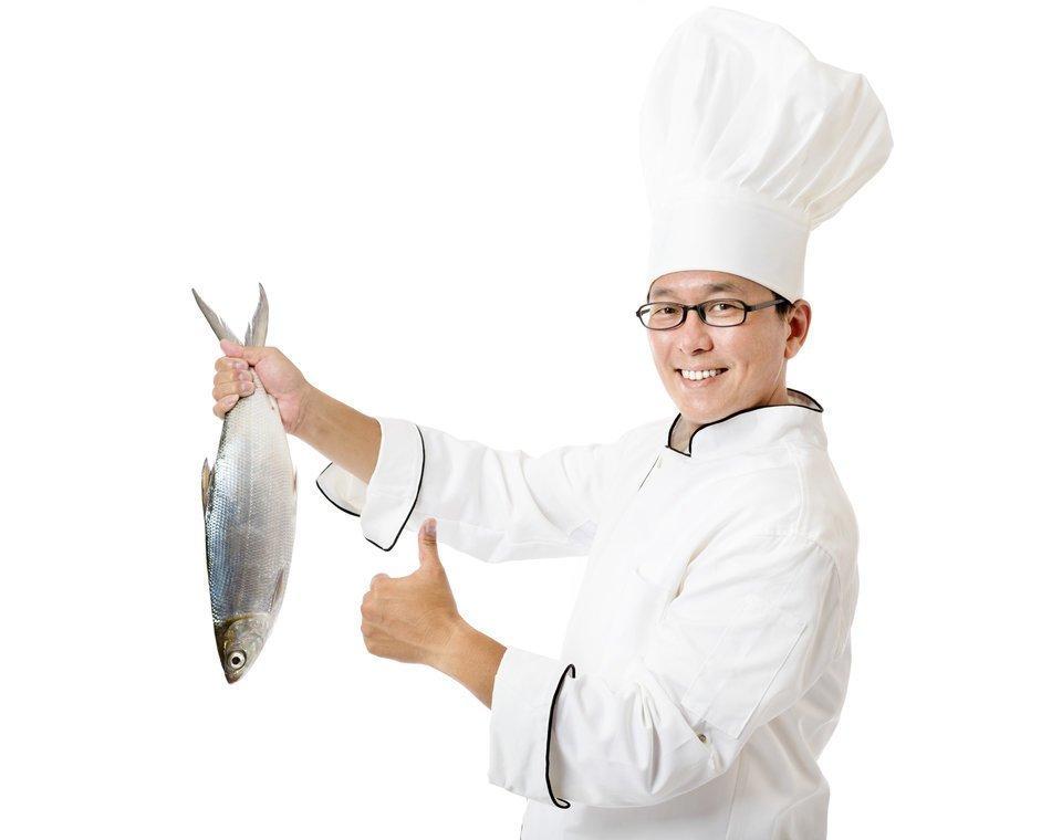 コック 魚 写真
