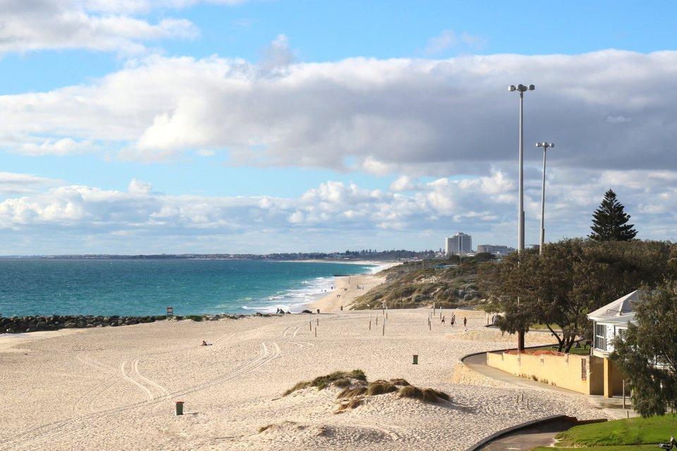 海 オーストラリア パース 写真