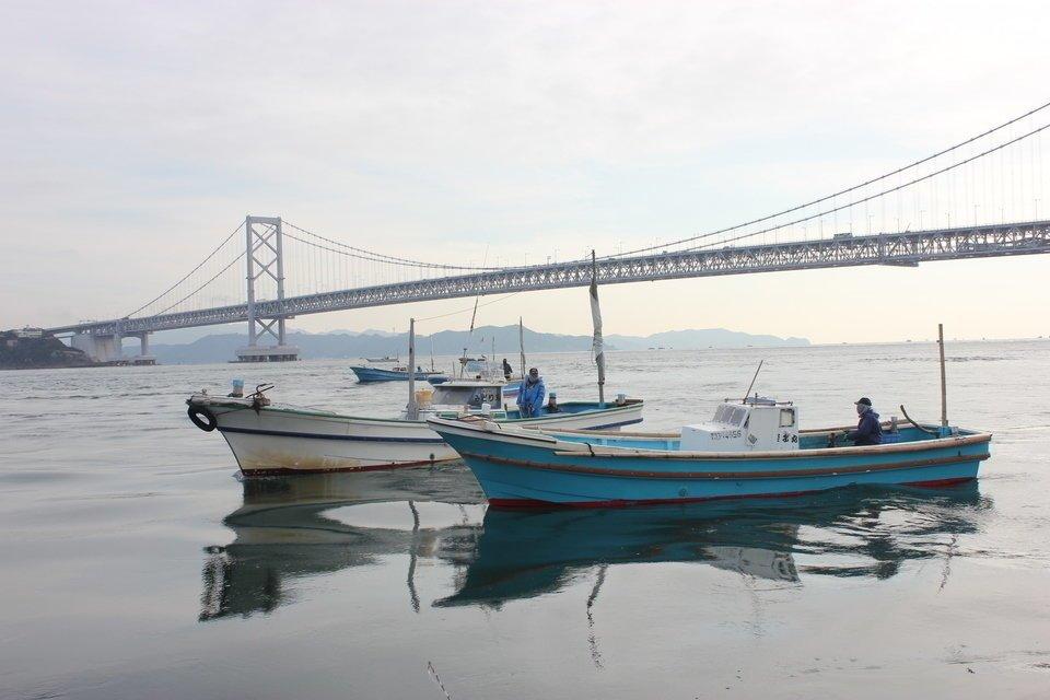 鳴門 釣り船 写真