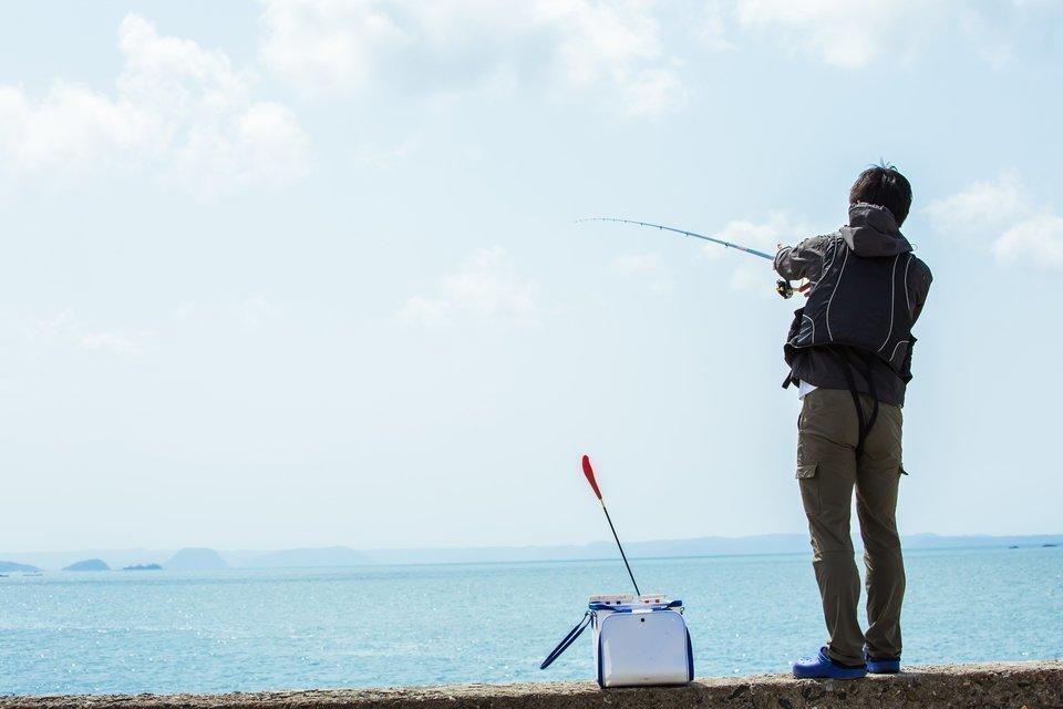 釣り 男性