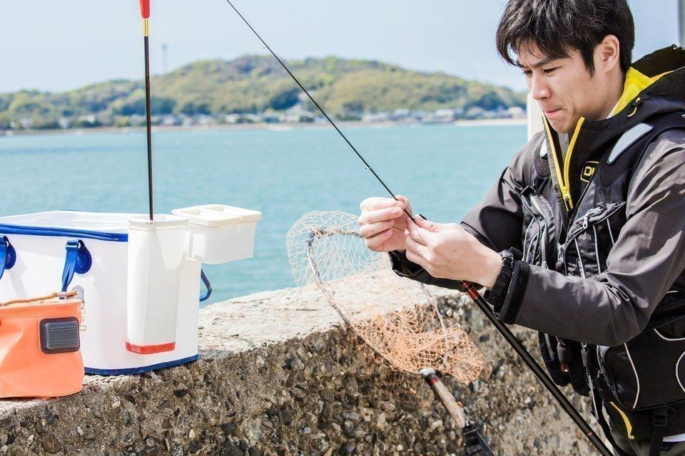 釣り 写真 男性