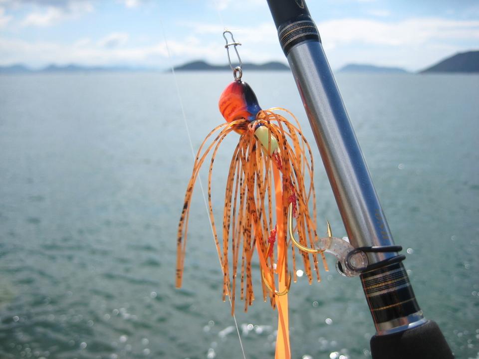 タイラバ 写真 海 ロッド
