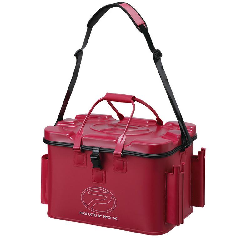 EVA磯タックルバッグ ロッドホルダー付は2018年新発売の釣り専用バッグ!耐久性の高い底面一体成型のEVAボディ!