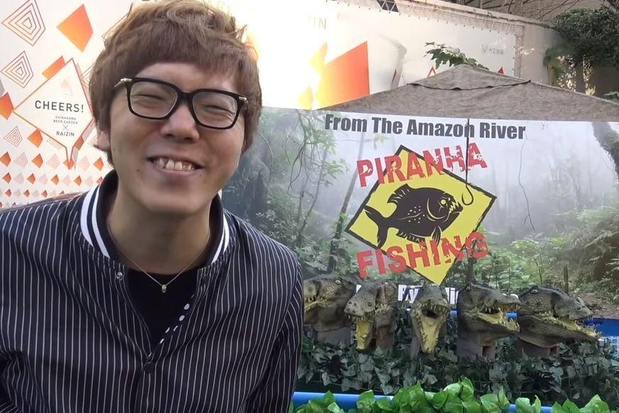 ヒカキン ピラニア釣り YouTube
