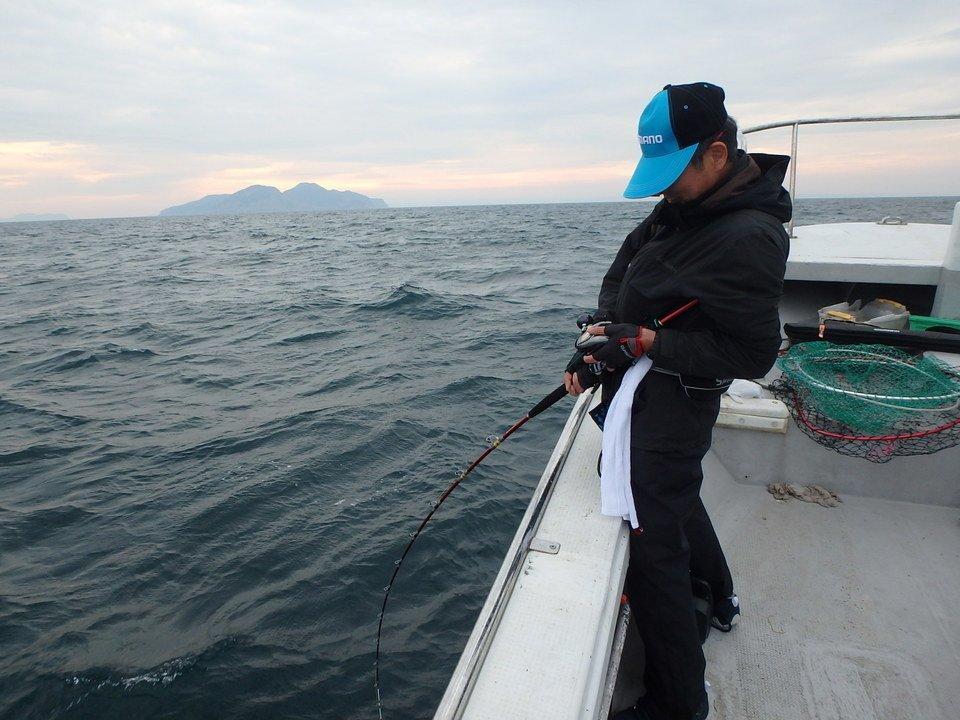 船釣り 男性