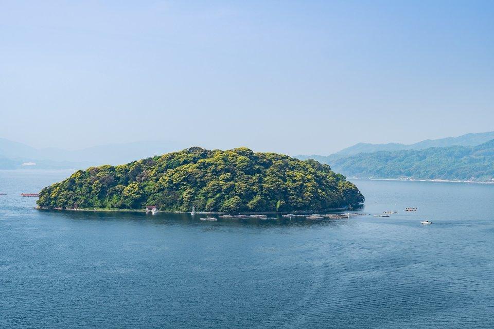 無人島の写真