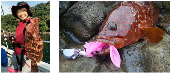 魚 ワーム 写真