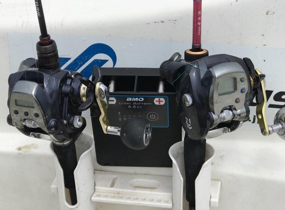 電動リールで船釣りをより楽しもう!リチウムイオンバッテリーの減り具合を2日掛けて検証しました!