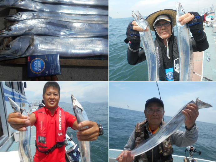 タチウオ爆釣!今がシーズンのタチウオを伊良湖水道で釣ってきました!