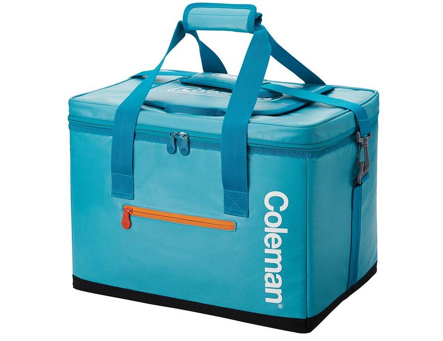 持ち運びに便利なコールマンのクーラーボックス写真