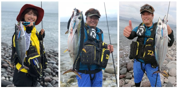 釣り人 魚 写真