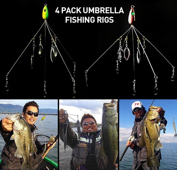 釣り人やアラバマリグの写真