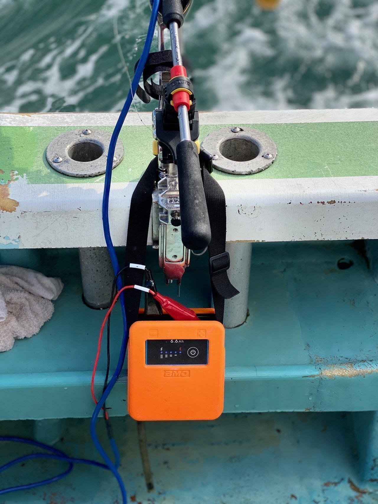 リチウムイオンバッテリー6.6Ahの写真
