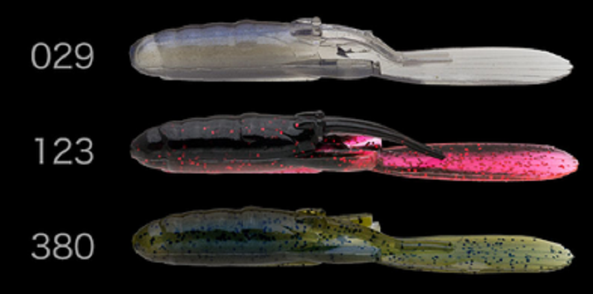 パドチューの追加カラーはこの3種類