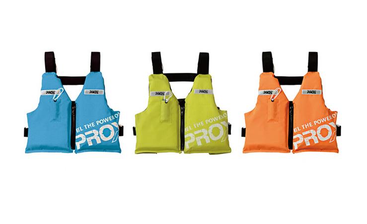 マリンベストDX笛付は2020年新発売の子供用フローティングベスト!
