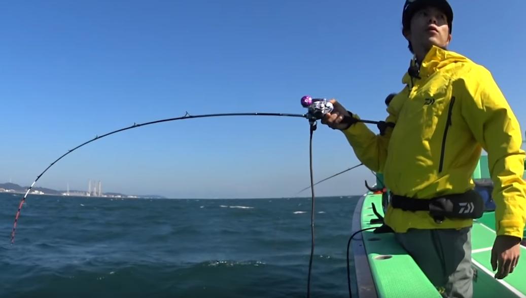 対象魚によってさまざまなタイプが用意されている船竿
