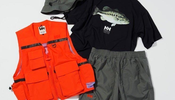 BEAMSの釣りウエアの写真