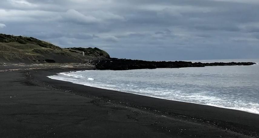 砂浜の景色