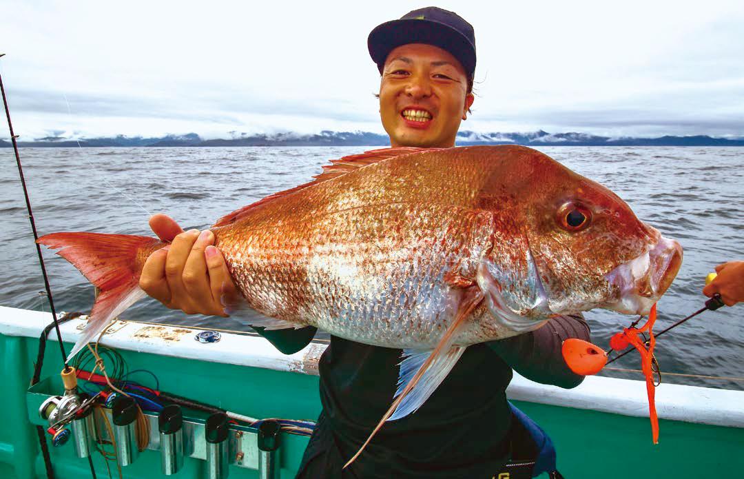 体験すれば分かる!釣れるマダイジギング&安定のタイラバ!「熊野灘のタイラバ&タイジグ」