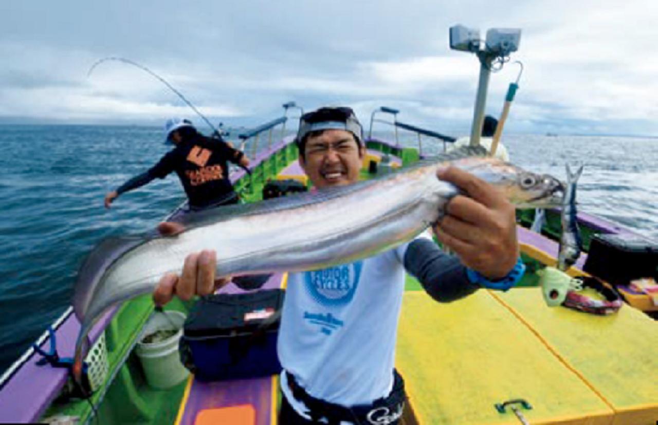 タチウオ釣り大型主義宣言!東京ドラゴン研究所【後編】