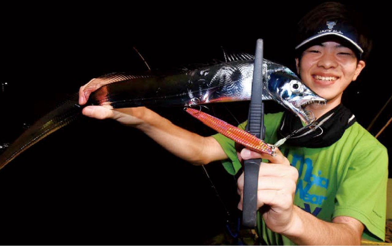 [タカハシゴーの親子でゴー(第53回)]沼津の夜タチウオで夏のオモシロ体験