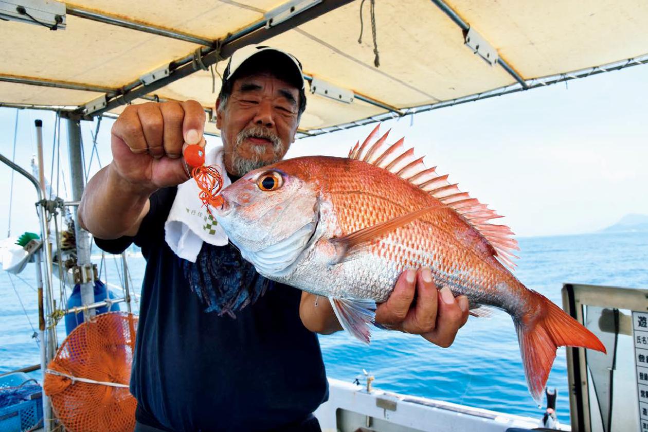 出張+おまけ釣行!宮島沖で速潮洗う瀬戸の鯛!
