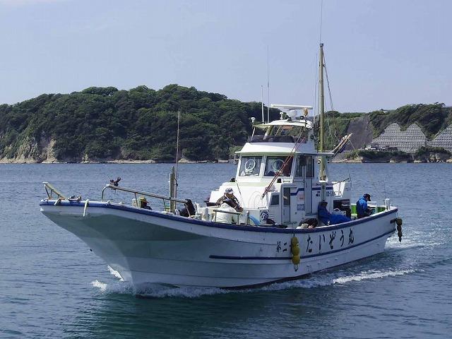 たいぞう丸の公式釣り船予約「24時間受付・特別割引・ポイント還元」by釣割