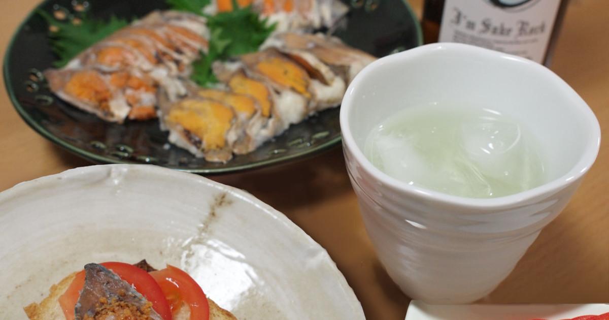 鮒寿司のカナッペ by おーさかや